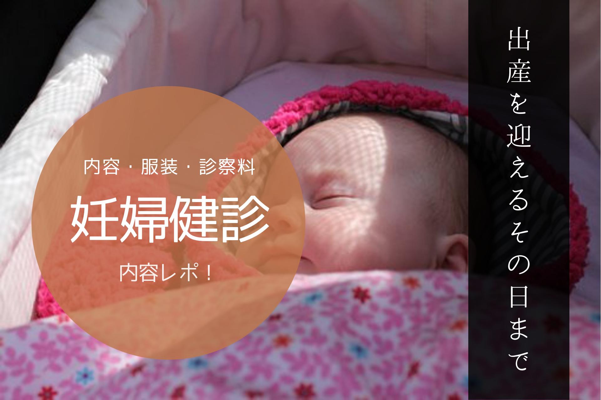 妊婦健診の内容レポート