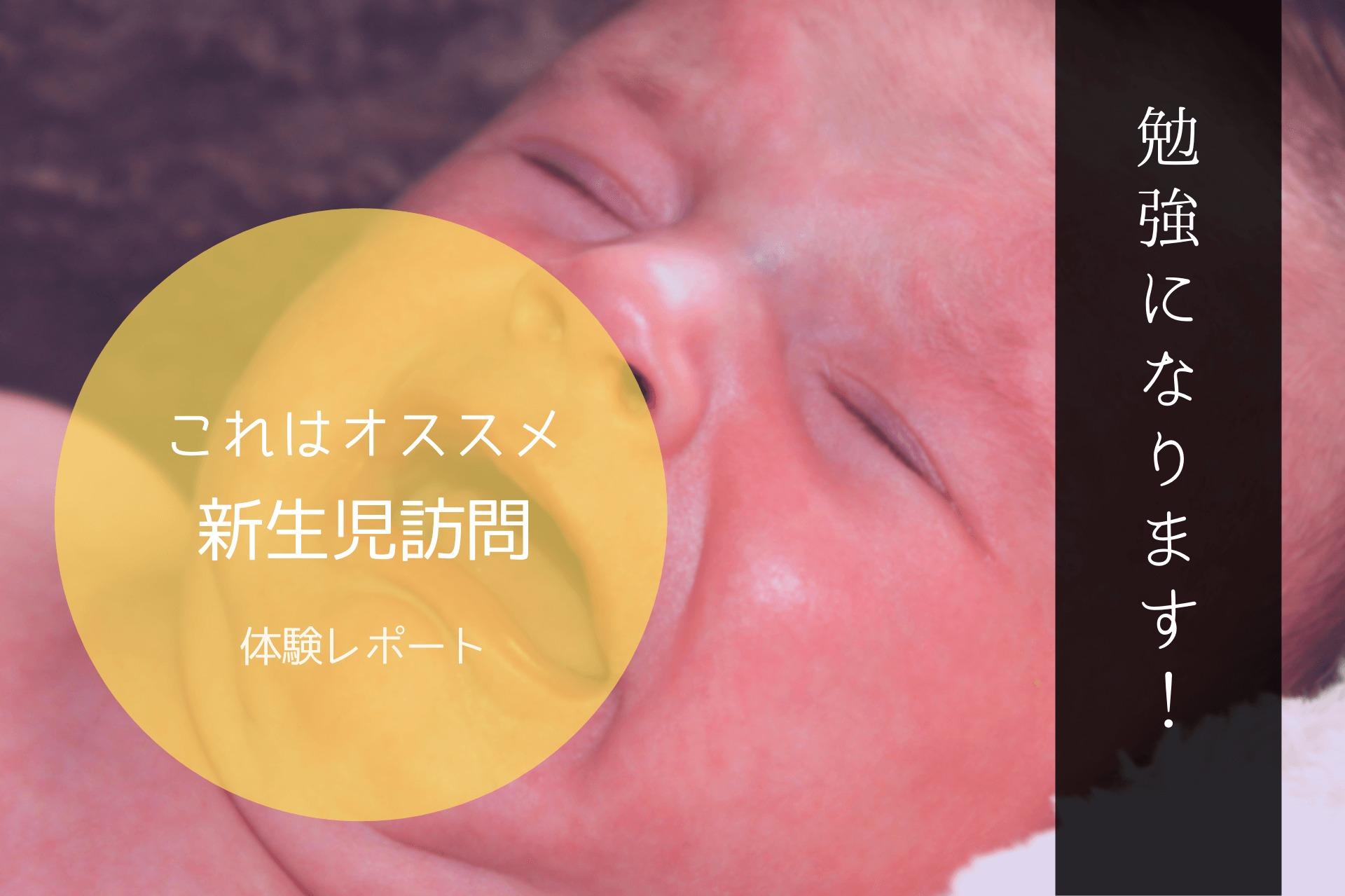 新生児訪問 体験 レポート